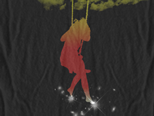 -=Happiness in the Sky=- T-Shirt Design by