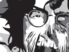 Zombie Lennon T-Shirt Design by