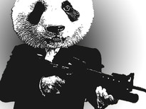 Panda Montana T-Shirt Design by