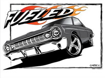 Fueled T-Shirt Design by