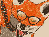 Fox on Rush T-Shirt Design by