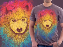 Color of Samoyed T-Shirt Design by