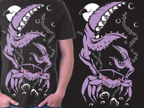 moonlit monster T-Shirt Design by