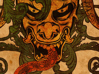 Hannya - Orochi T-Shirt Design by