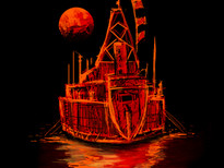 Night Sailing T-Shirt Design by