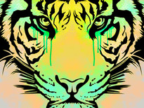 Eye of the tiger T-Shirt Design by