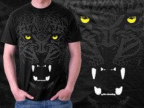 =:= Savage ferocity =:= T-Shirt Design by