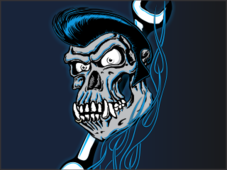 Grease Monkey T-Shirt Design by