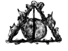 The Hallows T-Shirt Design by