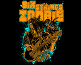 six strings zombie by diegoflower