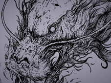 Tree Dragon T-Shirt Design by
