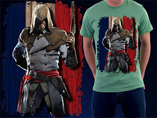 Assassin's Creed Unity - France T-Shirt Design by