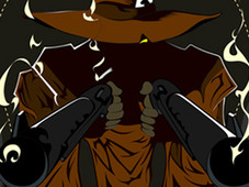 THE GUNSLINGER T-Shirt Design by