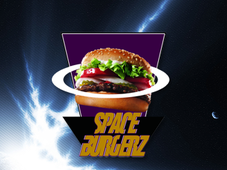 Space Burgerz T-Shirt Design by