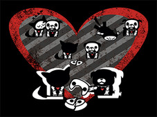 Loveable Bones T-Shirt Design by