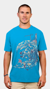 Summer Waves Breaking T-Shirt