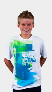 DBH Kids - Bleu Beaches T-Shirt