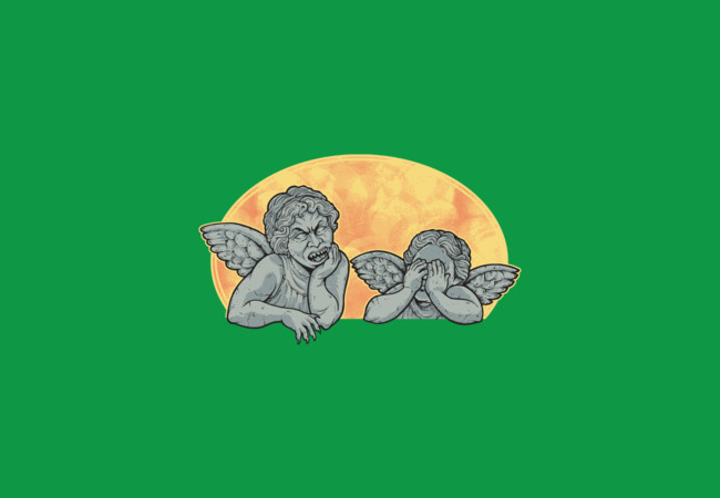 Weeping Cherubs  Artwork