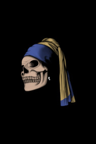 The Skull with a Pearl Earring