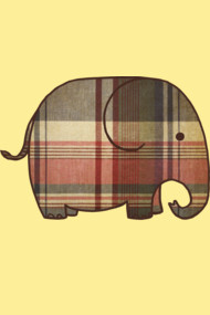Plaid Elephant