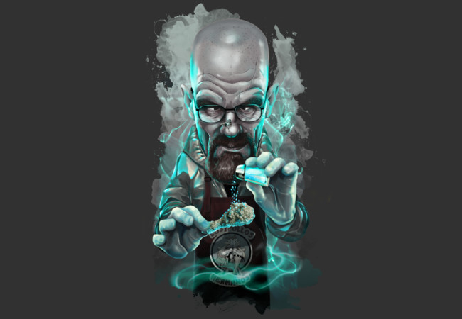 HEISENBERG CARICATURE  Artwork