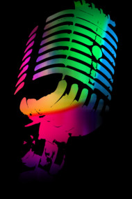 The Neon Microphone
