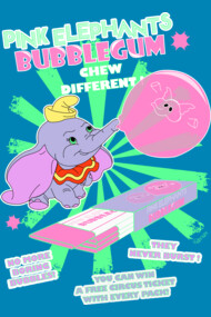 Pink Elephants Bubblegum
