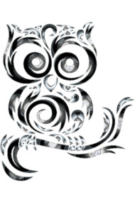 Owl bird metal