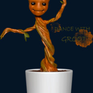 Dance with Groot