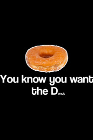 You Want the D