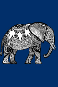 Patterned Elephant