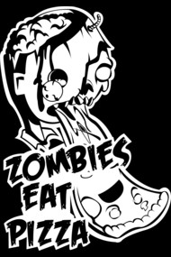 Zombies Eat Pizza