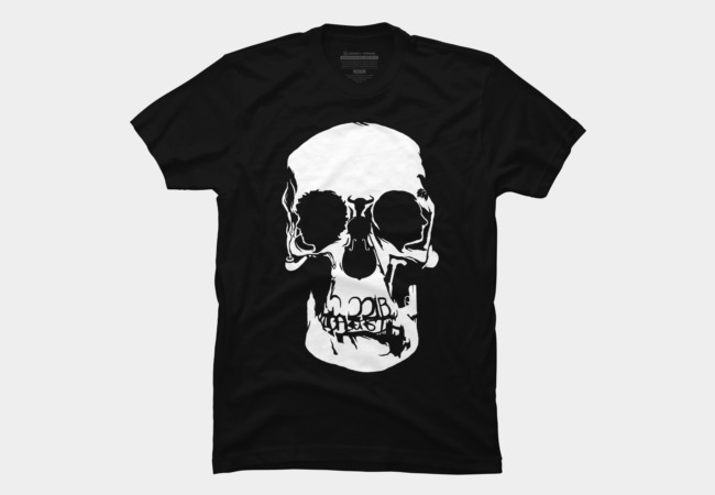 Sherlock: Skull on the Wall Men's T-Shirt