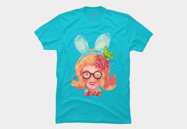 Lapin Belle Men's T-Shirt