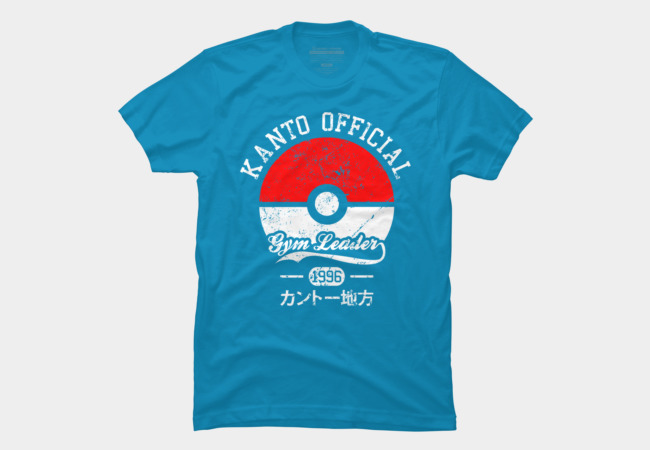 Kanto official - Gym leader Men's T-Shirt
