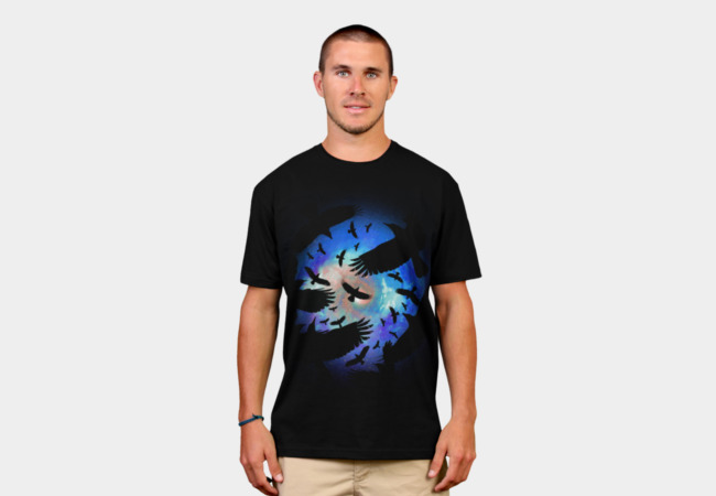 Night Flight T-Shirt - Design By Humans