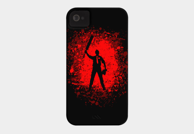 Shaun the zombie hunter Phone Case - Design By Humans