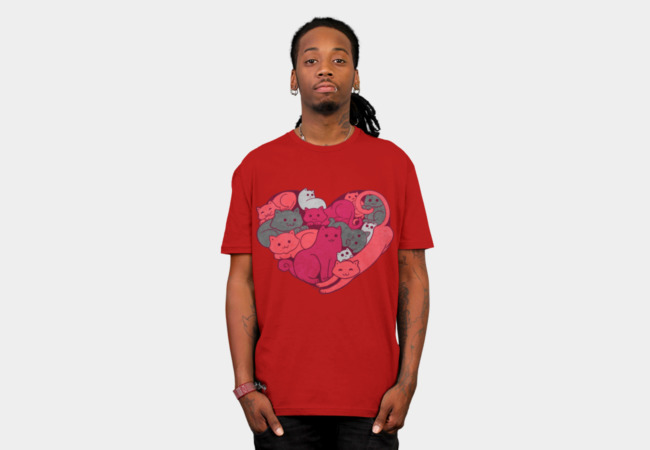 A Purrrrrfect Love T-Shirt - Design By Humans