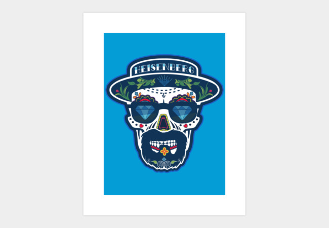 Heisenberg de los Muertos Art Print - Design By Humans