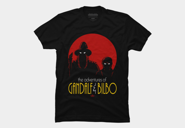 Gandalf and Bilbo Men's T-Shirt